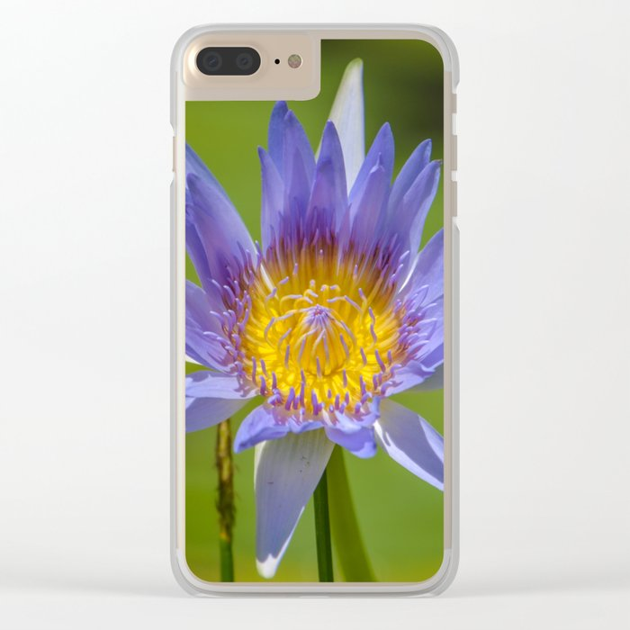 waterlilly Clear iPhone Case