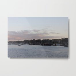 Amsterdam sunset 1 Metal Print