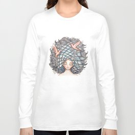 Claudette Head in the Clouds Long Sleeve T-shirt