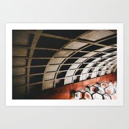 Montreal Subway   Métro de Montréal Art Print