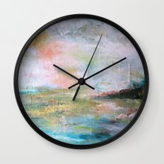 Tourmaline Wall Clock
