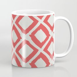 Valencia Red Diamonds Coffee Mug