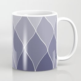 Navy blue ombre Abstract Coffee Mug