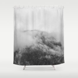 Moody clouds 1 Shower Curtain