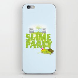 Slime Party iPhone Skin
