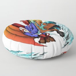 Good and Evil 2020 Floor Pillow