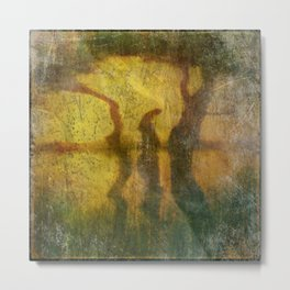 REFLECTIONS ON LAO TZU Metal Print
