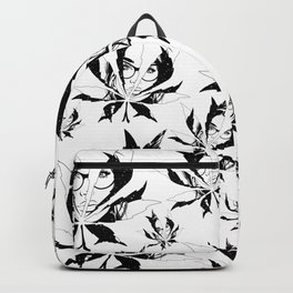 Hiding face universe weed Backpack