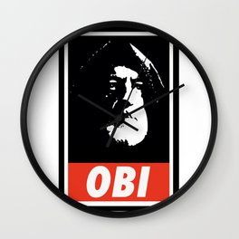 Obey Wan Wall Clock