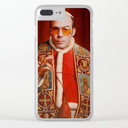 Saint Gonzo Clear iPhone Case