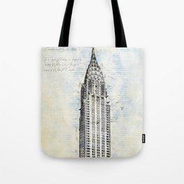 Crysler Building, New York, USA Tote Bag