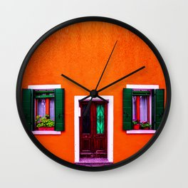 colorful home Wall Clock