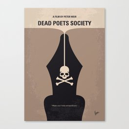 No486 My Dead Poets Society mmp Canvas Print