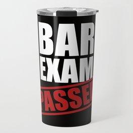 Bar Exam Passed Travel Mug