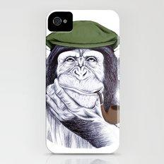 Wise Mr. Chimp iPhone (4, 4s) Slim Case