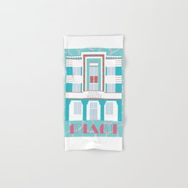 Miami Landmarks - Hotel Webster Hand & Bath Towel