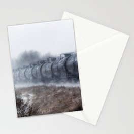 Winter Locomotion Stationery Cards