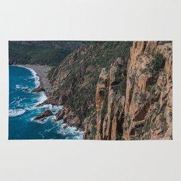 Corsica Island Landscape Rug