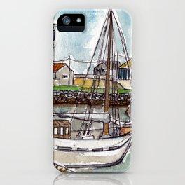 The Harbour, Figueira Da Foz, Portugal iPhone Case