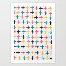 Axis Art Print