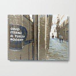 Barcelona digital street photography + Dreamscope Metal Print