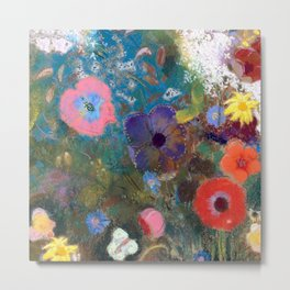 Bouquet of Flowers Metal Print