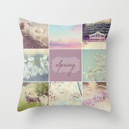 Spring Beauty - Vignette Throw Pillow