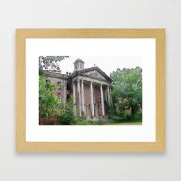 Jones Building - Central State Hospital Framed Art Print