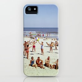 1960's Wildwood NJ Beach, iPhone Case