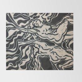 Rape of Women Throw Blanket