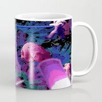 rave Mugs featuring Apple Rave by Sabrina Kee