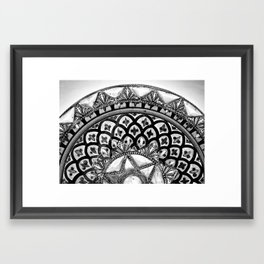 Moroccan Bowl Framed Art Print