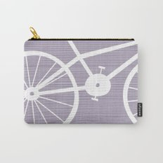 Purple Bike Carry-All Pouch