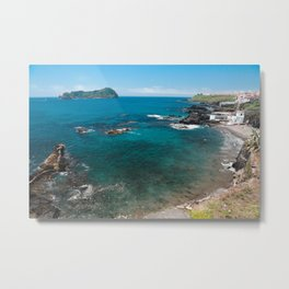 Small bay and islet Metal Print