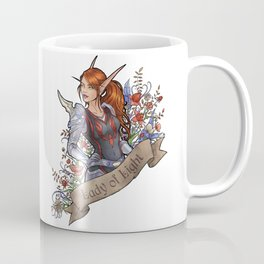 Lady of Light Coffee Mug