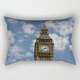Big Blue Sky Rectangular Pillow