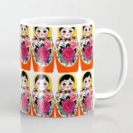 Babushka ya ya red Coffee Mug