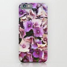 Pink and Purple Hydrangea Slim Case iPhone 6s