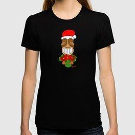 Poinsettia Tiki T-shirt