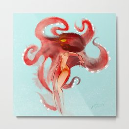 AMORPHOUS OCTOPUS BODY Metal Print