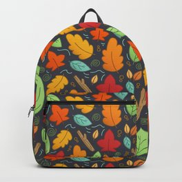 Happy Autumn pattern Backpack