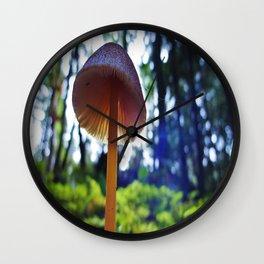 Sun Cap Wall Clock
