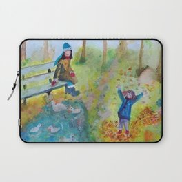 A Day At The Park Laptop Sleeve