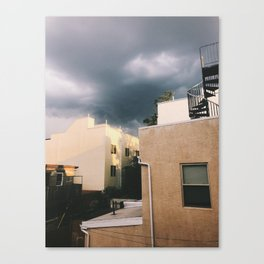 light before the storm Canvas Print