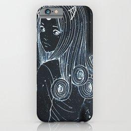Junji Ito - Kirie Anime Galaxy iPhone Case