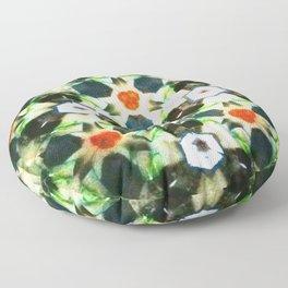 Modern Moroccan Green Floor Pillow