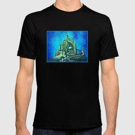Mysterious Fathoms Below T-shirt