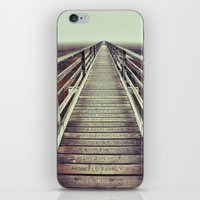cape cod iPhone & iPod Skins featuring Gray's Beach Cape Cod by marie grady palcic