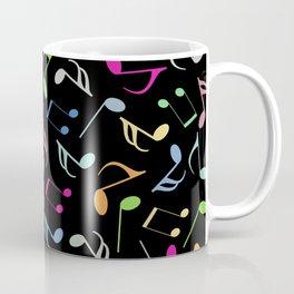 Music Colorful Notes II Coffee Mug