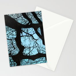 Tree study Stationery Cards